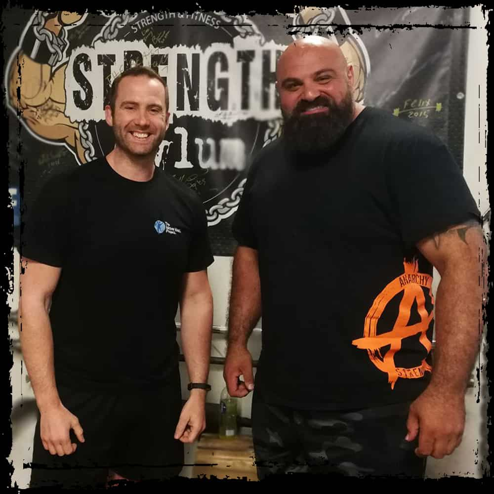 Laurance Shalaei at Strength Asylum - UK Strongest Man, Europes Strongest Man