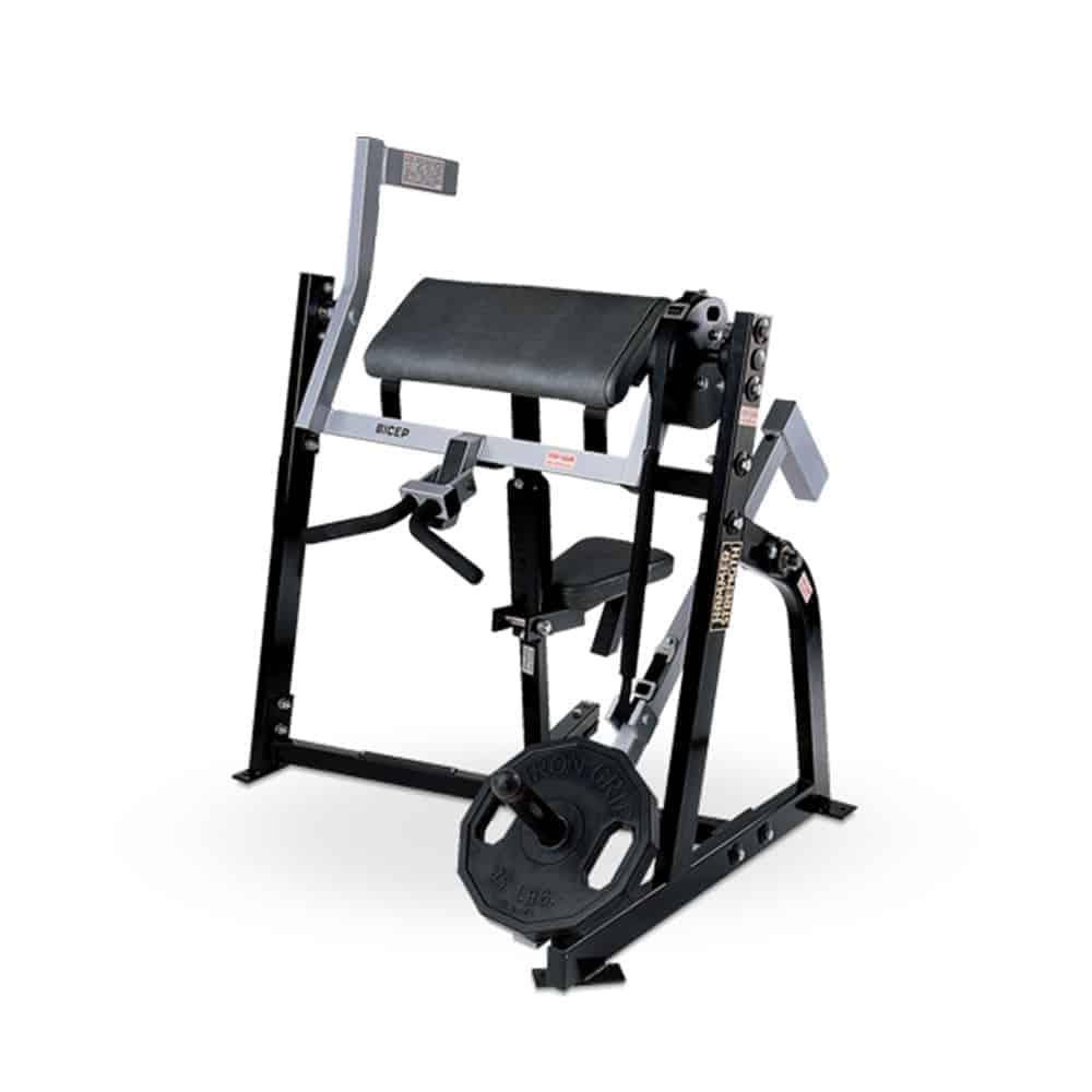 Hammer Strength Gripper: Bicep Training Equipment