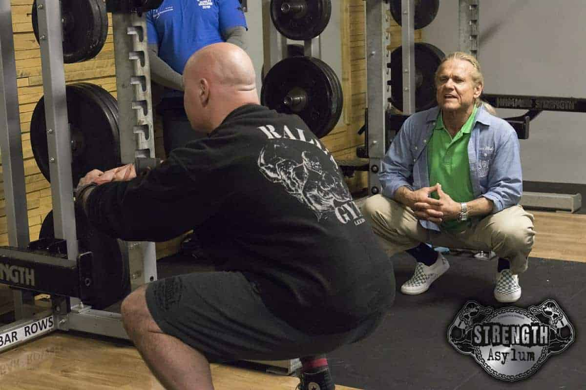 Tom Platz Squat Clinics & Seminar 2018 | Strength Asylum